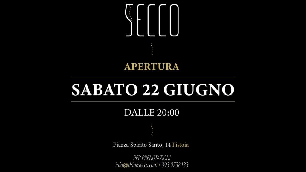 Evento Apertura | Secco Pistoia | Bollicine Italiane